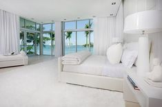 if i lived in a miami mansion my house would be all white too 4