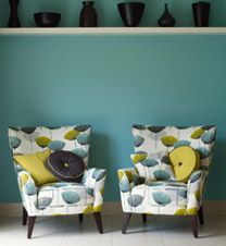 Love this colour scheme and of course the dandelion clocks Sanderson print too. Will try to integrate them somehow