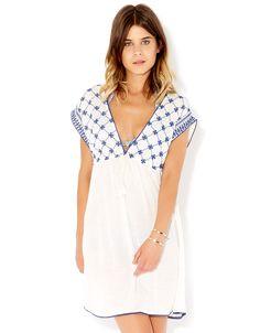 Amira Embroidered Dress