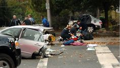 pictures of wrecks due to using cell phones | ... study claims texting while driving does not result in fewer crashes