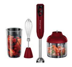Blender ręczny Desire 3w1 posiada 2 ustawienia prędkości. Idealnie nadaje się do mieszania, ubijania, siekania i innych kuchennych zadań. Kliknij www.kochamdom.pl