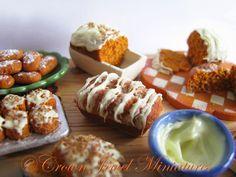 Pumpkin nut breads, cakes, rolls, muffins & biscuits by IGMA Artisan Robin Brady-Boxwell
