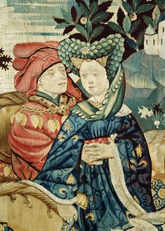 Devonshire Hunting Tapestry, detail