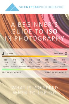 What is ISO speed in photography and how do you use it to take better photos. Learn what you need to know with my free beginners guide to ISO in Photography