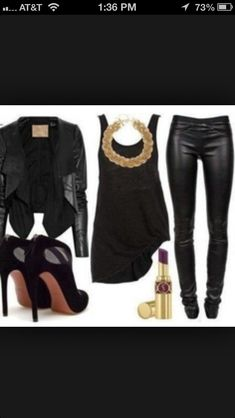 Really cute classy outfit to have a girls night out or to the club. I love it