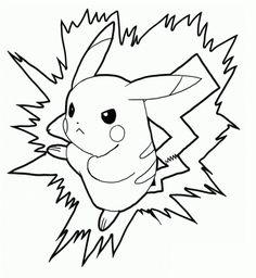 As 26 Melhores Imagens Em Colorir Imagens Do Pikachu Pokemon Go