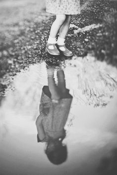 Sometimes we r blind 2 see ourselves except in water !