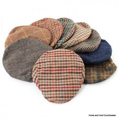Heather Hats Kirby British Wool Tweed Cap - Assorted Patterns The Kirby is  a quality- e39cf4815718