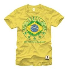 FIFA Officially Licensed Brazil World Cup T-shirt available @ http://www.world-cup-products-worldwide.com/fifa-officially-licensed-2014-football-world-cup-t-shirt-team-brazil/