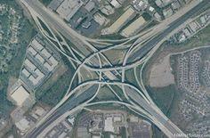 Tom Moreland Interchange, Atlanta, Georgia #amazingarchitectures #travel