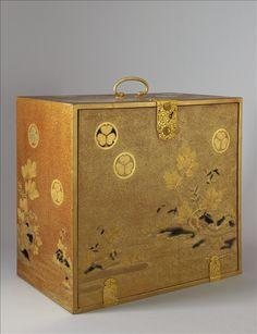 Nécessaire portatif à thé - XVIIe ou début du XVIIIe siècle - . Copyright Eric Emo / Musée Cernuschi / Roger-Viollet