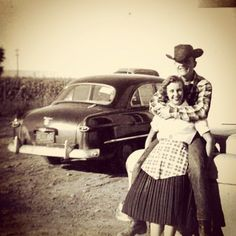 country couple 1950s