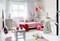Inrichting van een meisjeskamer | Interieur inrichting