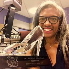 New York Radio personality Helen Little receives the NABFEME Stiletto Award for Radio Executive of The Year! Professional Goals, Radio Personality, Equality, York, Female, Social Equality, Equation