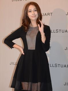 Actress Lee Min-jung smiles during a promotional event for a fashion brand in Seoul on Tuesday. Jung So Min, Asian Celebrities, Celebs, Asian Men, Asian Girl, Kim Tae Hee, Korean Star, Korean Actresses, Fashion Brand