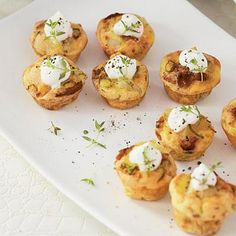 Mini Bacon Quiches - sub sweet potato for paleo and leave out dairy.