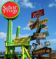 Senor Frogs Nassau Bahamas