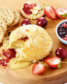 Cheese and wine pairing. Pair this Camembert with Berry Preserve recipe with your favourite Sparkling Wine for a special occasion. Sparkling Wine, Preserving Food, Allrecipes, Preserves, Wines, Berry, Vegetarian Recipes, Special Occasion, Cheese
