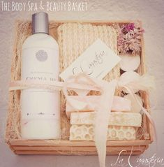 The Body Spa and Beauty Basket Body Spa, Bath And Body, Teacher Appreciation Gifts, Teacher Gifts, Party Decoration, Soap Packaging, Spa Gifts, Soap Making, Gift Baskets