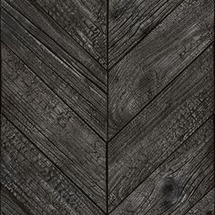 Burnt wood chevron wallpaper Source by base_designs Black Wood Texture, Wood Texture Seamless, Wood Effect Wallpaper, Chevron Wallpaper, Chevrons, Black Chevron, Old Farm, How To Antique Wood, Wood Planks