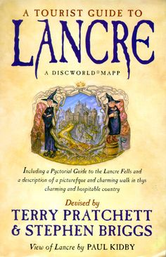 A Tourist Guide to Lancre (Discworld (Non fiction)) by Stephen Briggs, Paul Kidby and Terry Pratchett - book cover, description, publication history. Nanny Ogg, Discworld Books, Terry Pratchett Discworld, Cursed Child Book, Nonfiction Books, Reading, Amazon, Witches, Turtle