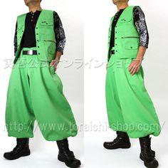 Toraichi 2530-611 Vest  2530-418 Cho-cho long pants
