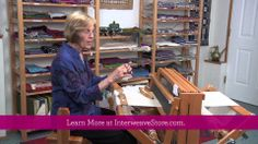 Learn how to weave lace with this 109-minute workshop with expert Madelyn van der Hoogt.