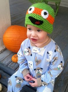 TMNT Hat All Sizes by JHCrafter on Etsy