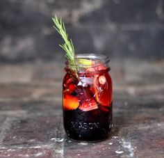 Pomegranate Sangria   15 Ways To Make Cheap Wine Insanely Drinkable