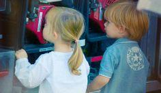 Danish royal twins Prince Vincent and Princess Josephine 2014