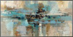 Morning Fjord Framed Canvas Print by Silvia Vassileva at Art.com