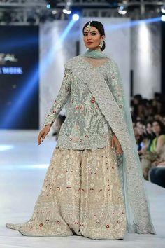 "SANIA MASKATIYA ""August Dreams"" showcased at PLBW16 DAY 1 . . #saniamaskatiya plbw16day1 #mehreensyed #plbw16 #plbw2016 #plbwlorealparisbridalweek #lehengacholi #bridalwear #fashionweek #fashionblogger #fashionupdate #weddingdress #weddingwear #pakistanibride #pakistanifashion #bridaldresses #desidulhan #dulhan #asianbride #rampwalk #bridalfashionshow #peplumtop #sarees #backless #embroidereddresses #lehenga #fblogger #ethnicwear #womenwear #menswear #groomswear #sherwani #salwarkameez"