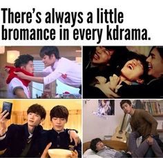 A drama without BROMANCE is like a drama without Kiss scenes- it's just wrong. BROMANCE is sometimes more interesting than the OTP ;) LONG LIVE BROMANCE! #kdrama