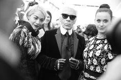 Paris Fashion Week Spring/Summer 2014 backstage journal, Day 8, Chanel, Karl Lagerfeld, Katy Perry, Valentino, Rita Ora, Clémence Poésy, Van...