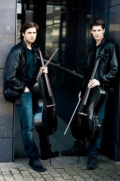 Stepjan Hauser and Luka Sulic. Beautiful men and music!