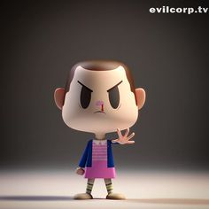 Eleven.  #strangerthings #eleven #fanart #kibooki