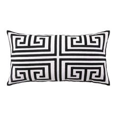 I pinned this Greek Key Embroidered Pillow in Black from the Trina Turk & D.L. Rhein event at Joss & Main!