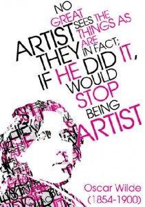 Oscar Wilde on Artists