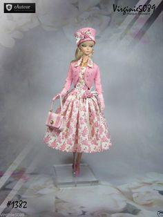 Tenue Outfit Accessoires Pour Fashion Royalty Barbie Silkstone Vintage 1382 | eBay