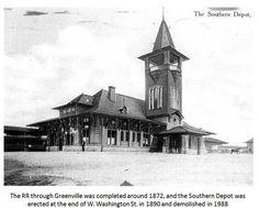 Old Depot in Greenville, South Carolina