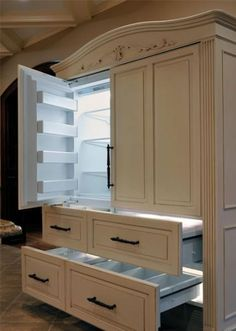 Can't believe this is a refrigerator! Great design.