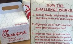 Chick-fil-A's New 'Cell Phone Coops' Are All About Well-Being