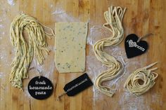 Need an excuse to make homemade pasta? Oct is Pasta Machine, Homemade Pasta