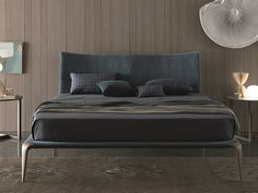 Fabric double bed MARGARETH - MisuraEmme