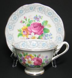 Royal Albert Fragrance Tea Cup at Classy Option - 1940s