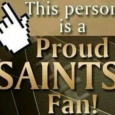 Proud Saints Fan