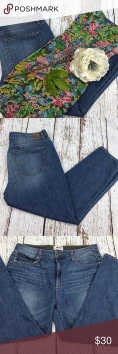 """💕SALE💕Paige Callie Crop Premium Denim Jeans Fabulous 💕Paige Callie Crop Premium Denim Jeans 25"""" Inseam 11"""" Rise Paige Jeans Jeans Ankle & Cropped"""