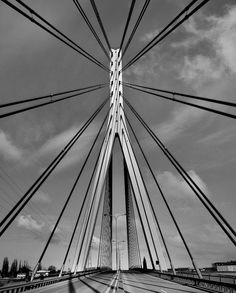 I really like the symmetry in this photo of a bridge, because symmetry on such a large scale would be very difficult, and I realise that it must have been a difficult task for both the builders and the architects.