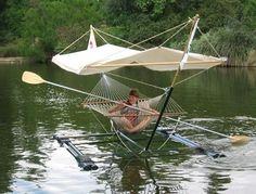 Hammock / boat !!