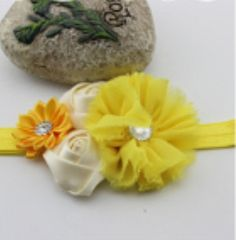 $8.00 https://www.etsy.com/listing/181243922/yellow-shabby-chic-headband-easter?ref=shop_home_active_15 Baby Shabby Chic Headband, Little Girl Easter Accessories, Yellow Easter Headband, Baby Birthday, Infant Photography Props, Toddler Accessories for Easter and Holidays. Easter Pictures, Flower Girl Headbands